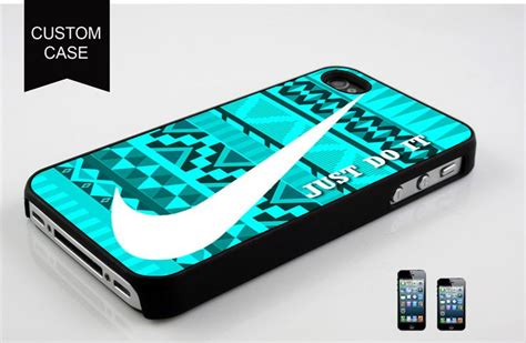 Iphone 4 4s Nike Sea Hardcas nike just do it aztec blue design for iphone 4 iphone 4s ca