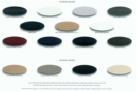 obsidian color chart lexus ls 4th paint codes media archive clublexus