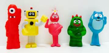 yo gabba gabba gang character toys