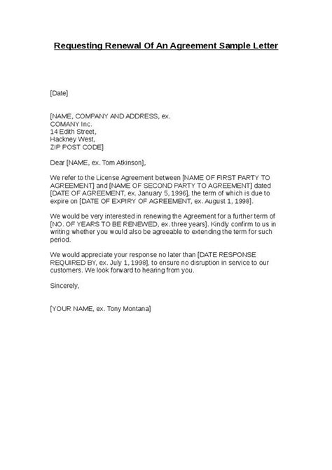 Contract Cover Letter Sle Contract Letter Sle Agreement Letter Idea 2018