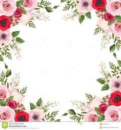 feld mit den roten und rosa lisianthus und den