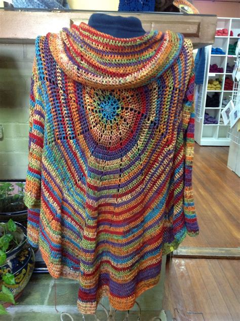 crochet circular jacket pattern ideas crochet circles