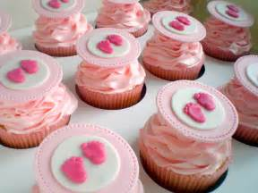 Baby girl shower cupcakes pinked out cupcakes for an office party baby