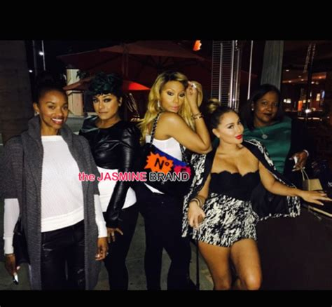 tamar braxton and april daniels celebrity stalking rihanna cassie jay z tyson beckford