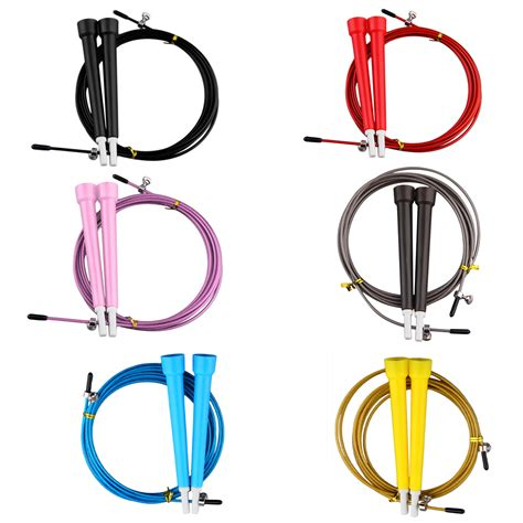 Oem Jumping Skipping Rope Intl allwin cable steel jump skipping jumping speed fitness