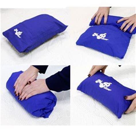 Go Anywhere Pillow by Pillow Roll Go Travel Pillow Daybreak Blue Ebay