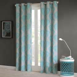 Gray And Teal Curtains Teal Blue Grey Damask Scroll Print Bedding Xl Comforter Quilt Duvet Set