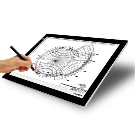 Drawing Light Box new huion a4 led light box ultra thin translucent drawing