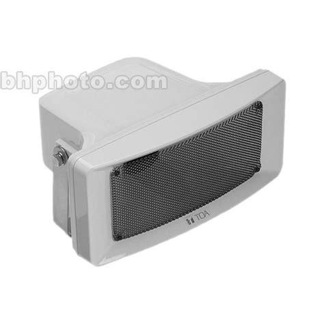 Speaker Toa Portable toa electronics 30 watt ul listed paging speaker cs 304u b h