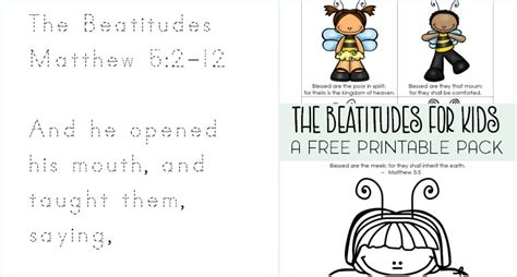 beatitudes coloring pages download free beatitudes for kids printable pack money saving mom 174