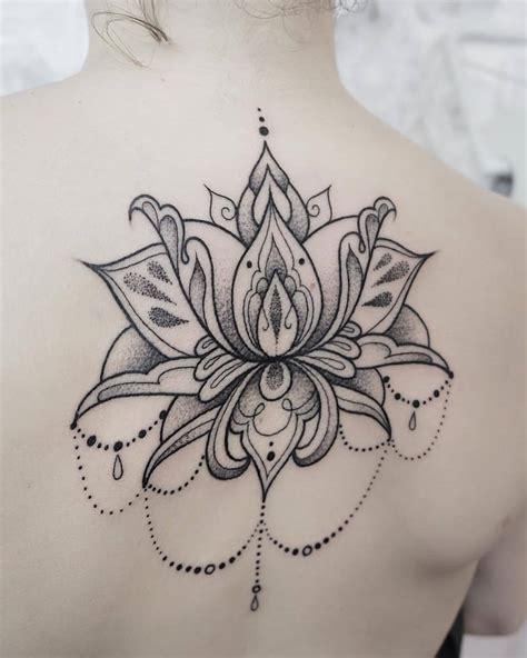 fior di loto tatuaggio don t panic fior di loto ornamentale