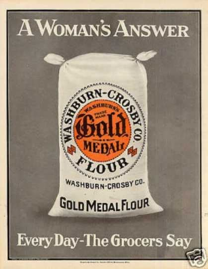 color ad 1890 advertisements gold medal flour color ad quot a s