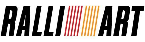 ralliart logo mitsubishi ralli art cartype