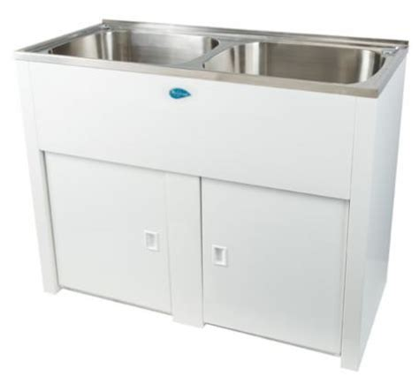 Nugleam twin laundry tub bathroomware house