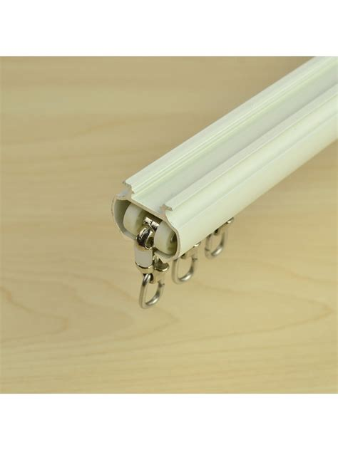 curtain track wall mount chr7424 ceiling wall mount triple curtain track set with