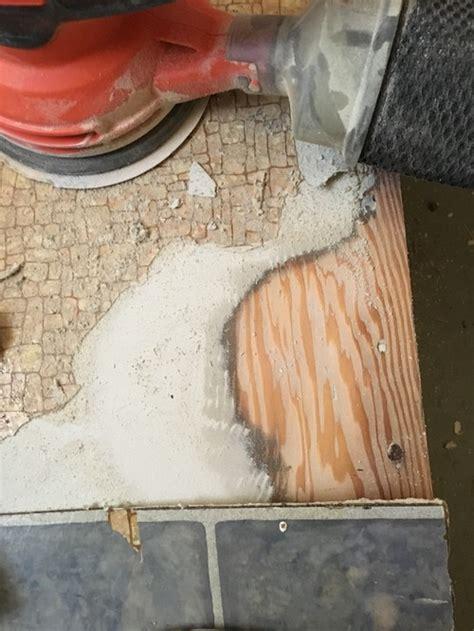 10 Asbestos Sanding Wood Floor - unwittingly removed asbestos floor tiles what s the deal