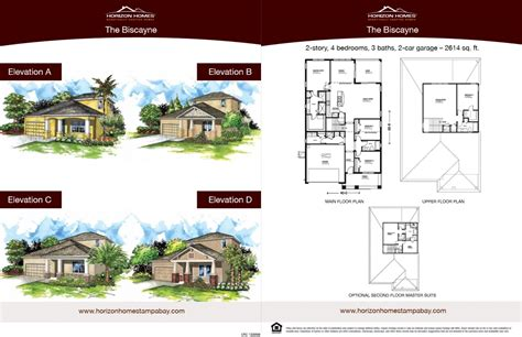 horizon homes sales sheet 3 brandmark advertising