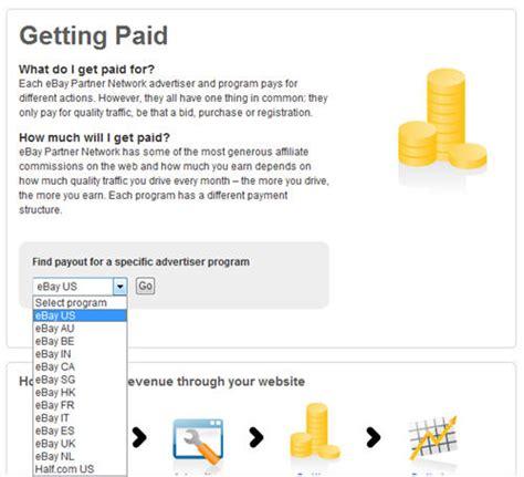 ebay affiliate affiliate marketing opportunities ebay affiliate program