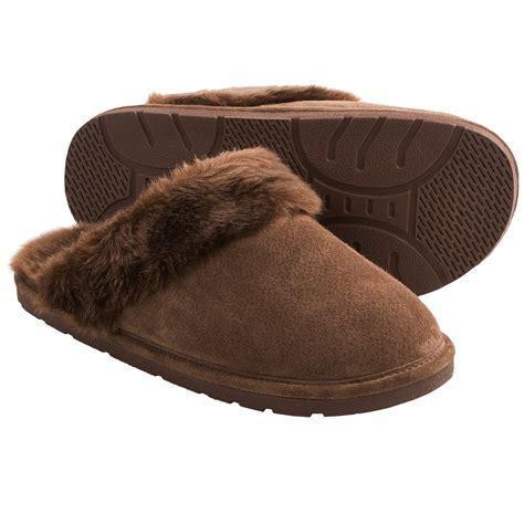 lamo slippers womens lamo scuff slippers for 7982j save 36