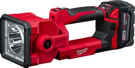 Milwaukee Search Milwaukee Thinks Outside The Toolbox With New M18 Led Search Light