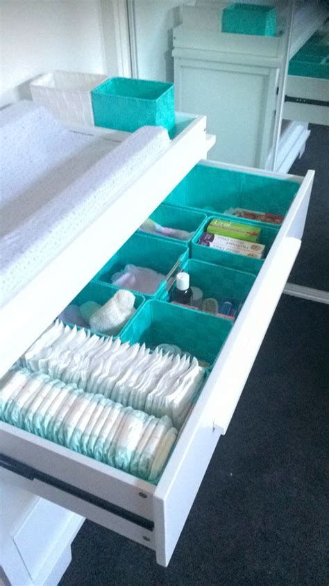 Boori 2 Drawer Change Table Boori Lucia Change Table Dresser With Mint Green Storage Compartments After Looking