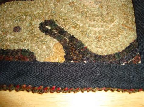 finishing a hooked rug 107 best images about finishing hooked rugs on hooked rugs wool and blanket stitch