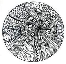 circle zentangles a gallery on flickr