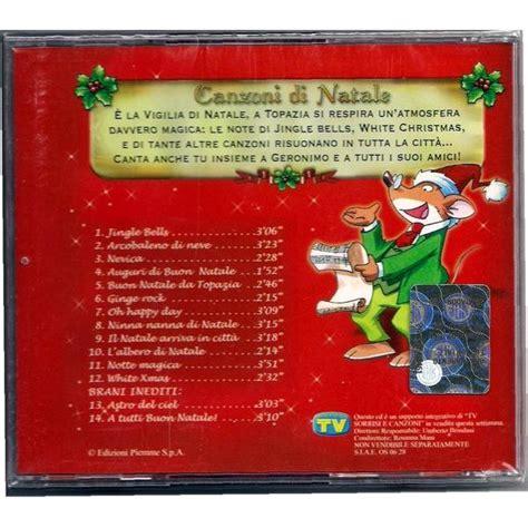 testi le canzoni di natale canzoni di natale geronimo stilton mp3 buy tracklist