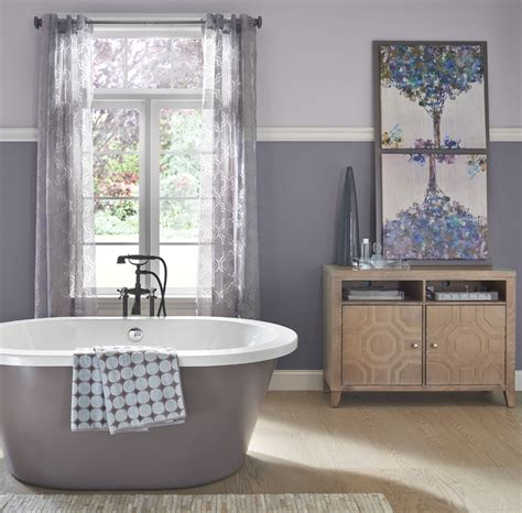 calming bathroom ideas  inspirational paint colors behr