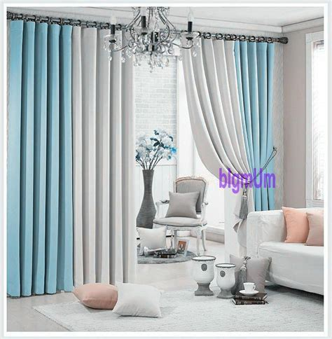 2019 promotion solid color plain window curtains for