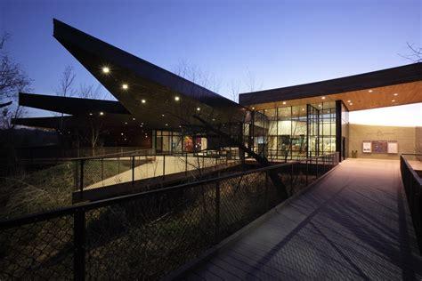 trinity river audubon center architizer