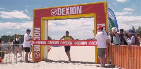 dexion sponsor mount monster nz iron man event dexion