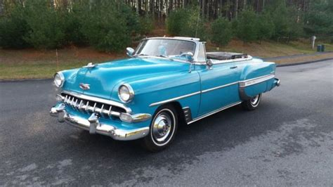 1954 chevrolet bel air convertible 1954 chevy belair v8 convertible for sale photos
