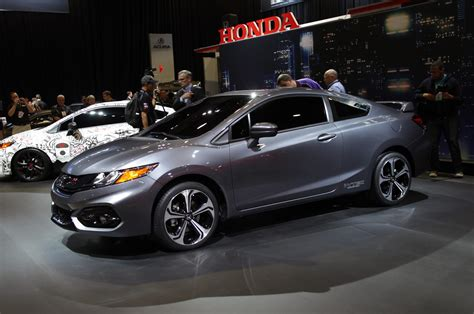 Civic Si News by Hondayes Honda Reveals All New 2014 Civic Si Coupe At The