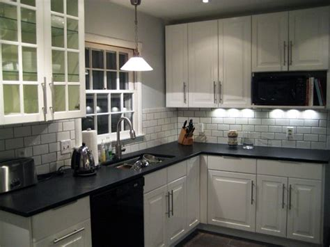 ikea subway tile white ikea kitchen with dark grouted tile my mom wants a