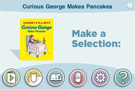 curious george makes pancakes board book books curious george makes pancakes app for iphone books