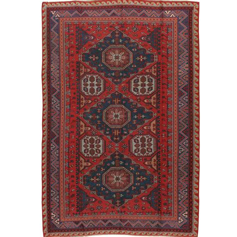 russian rug vintage russian sumak flat weave rug for sale at 1stdibs