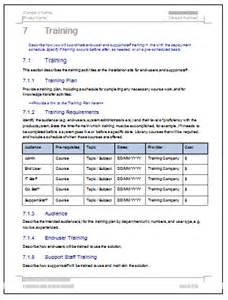 Technical Support Plan Template by Deployment Plan Template Instant
