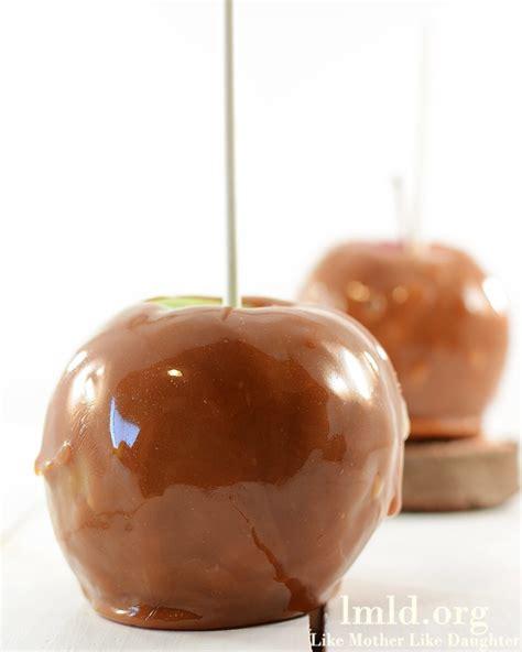 easy caramel apples like mother like daughter