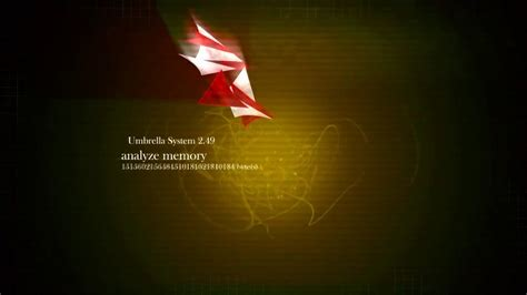 umbrella corporation  animated wallpaper dreamscene