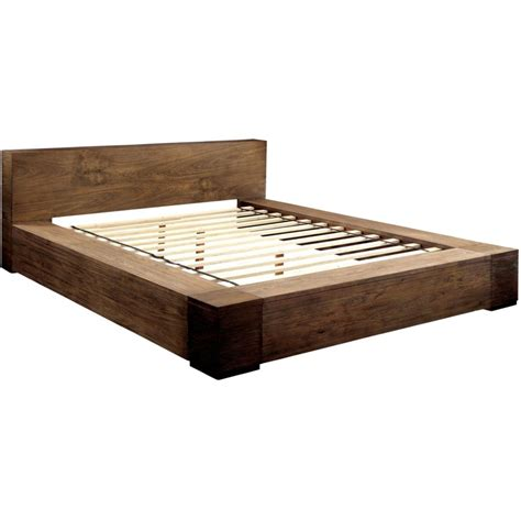 California King Platform Bed Frame Molinetransitional Low Profile California King Platform Bed In Also Headboard Interalle