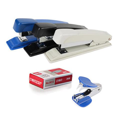 Deli Staples Standar 0305 deli 0351 office stapler set stapler staples staple remover 25 sheets capacity 123ink