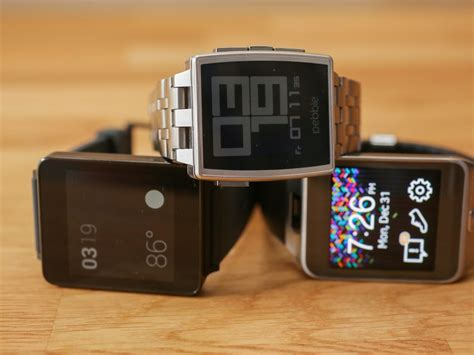 Pebble Time Steel Smartwatch White why the 6 month pebble steel is still the best smartwatch cnet