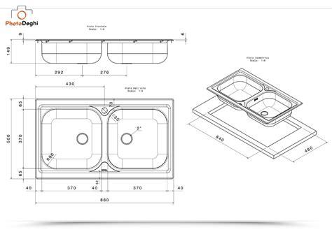 lavello a due vasche lavello cucina atmosfera apell a due vasche 86x50 cm