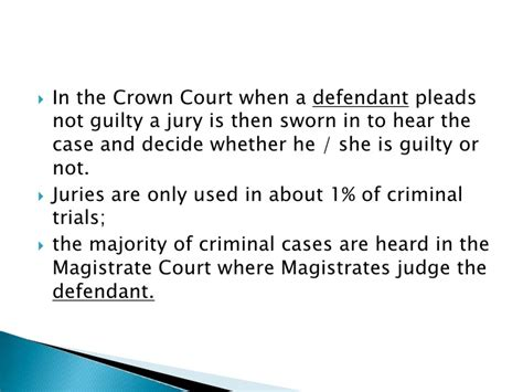 Can You Do Jury Service With A Criminal Record Exchange Co Uk Powerpoint