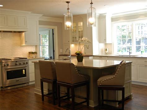 kitchen islands with seating pictures ideas from hgtv elegant open kitchen karen kettler hgtv