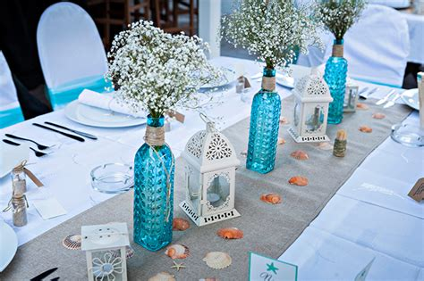 how to create wedding reception centerpieces