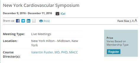11th annual barnabas health cardiovascular symposium 49th annual new york cardiovascular symposium 2016