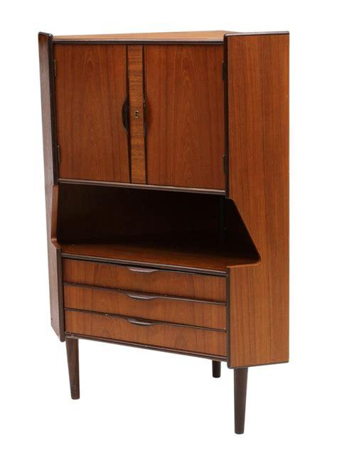 mid century modern corner cabinet mid century modern corner drinks cabinet