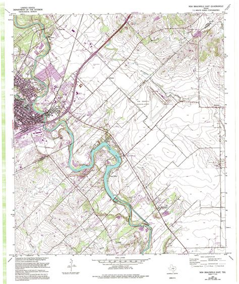 map of new braunfels texas new braunfels east topographic map tx usgs topo 29098f1